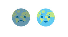 Ecology Planet Concept. Vector...
