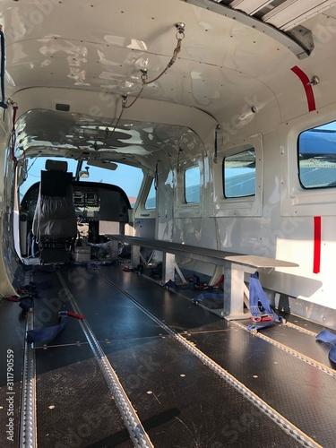 Photo Intérieur d'un avion Cessna Caravan