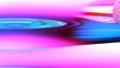 canvas print picture - smooth color stains, abstract composition, pink-blue