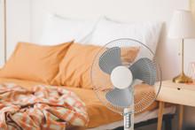 Modern Electric Fan In Bedroom
