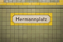 Hermannplatz, Subway Station I...
