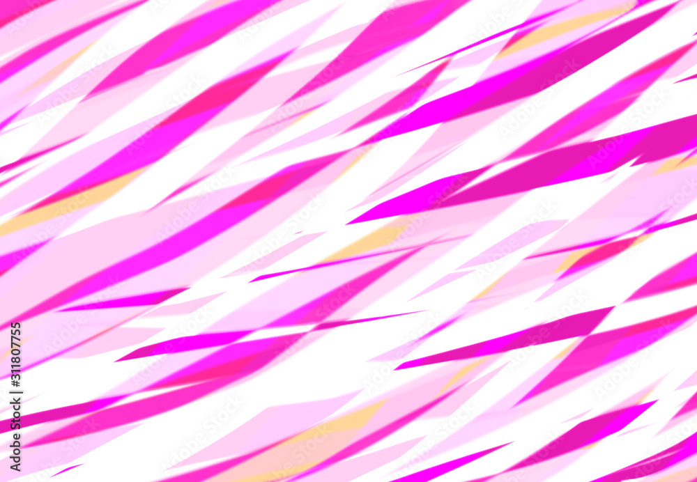 Fototapeta abstract striped retro pattern pink and white pastels cool background textures