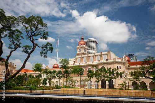 Sultan Abdul Samad Building, Kuala Lumpur, Malysia Wallpaper Mural