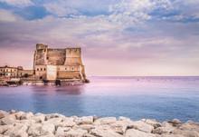 Castel Dell'Ovo In Naples Ital...