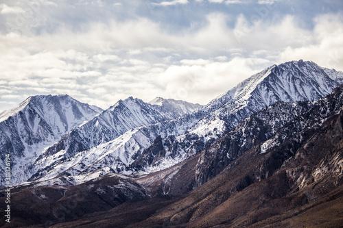 Snowy Mountain Peaks Sierra Nevada