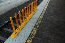 Stay Behind The Yellow Line. W...