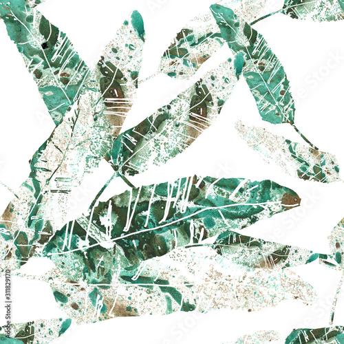 dekoracyjny-bezszwowy-wzor-z-liscmi-bananowymi-i-przeplatanymi-lodygami-recznie-robione-elementy-dekoraci-kolazu-ilustracja-dla-mody-tkaniny-projekta-tapety-tla-papieru-do-pakowania-wystroju-domu