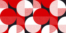 Red And Black Bauhaus Style Se...