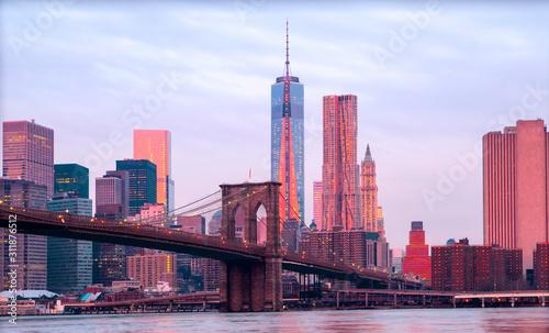 Fototapeta New York City, USA. obraz