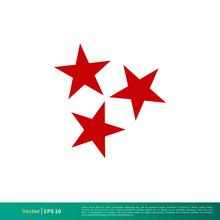 Three Stars, Tennessee Flag Ic...