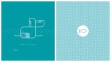 Carte De Naissance, Baleine, B...