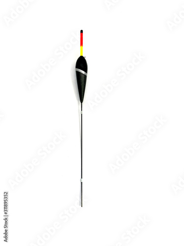 Fish bobber Isolated on a white background Tablou Canvas