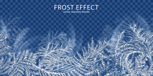 Frost Effect Background