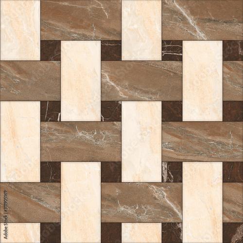 Fototapeta floor tiles , porcelain ceramic tile , geometric pattern for surface and floor , marble floor tiles obraz na płótnie