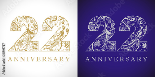 Papel de parede  22 years old logotype