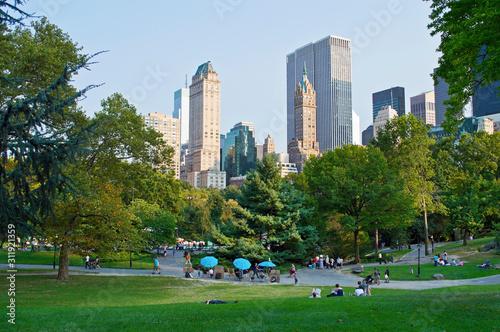 Tableau sur Toile City View Central Park