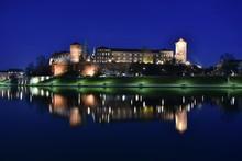 Wawel Nocą Bulwary Wislane W ...