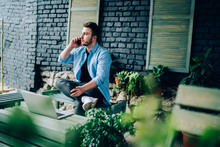 Young Businessman In Casual We...