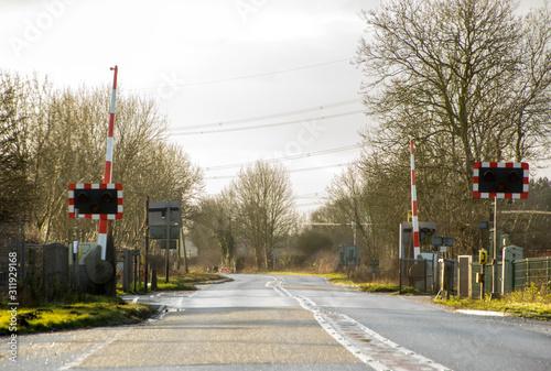 Valokuva Rail Level Crossing