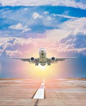 White Passenger Aircraft Take ...