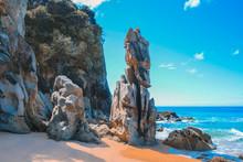 Anapai Beach At Abel Tasman National Park, South Island, New Zealand
