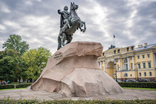 Monument Of Peter The Great (Peter The First) - St.Petersburg , Russia