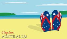 Thongs In The Sand Australia D...