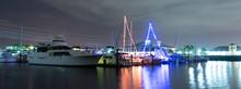 The Peaceful Night Of Punta Gorda Harbor