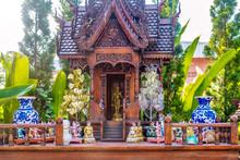 A Thai Spirit House, A Small R...