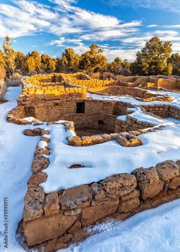 Coyote Village Stone Walls and Kivas