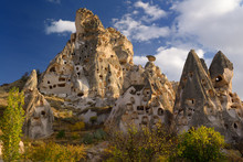 Ancient Uchisar Castle Houses ...