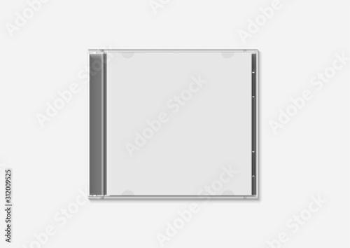 Obraz CD JACKET - WHITE BASE - fototapety do salonu