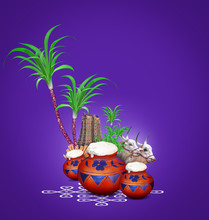 Pongal, Composition With Tradi...
