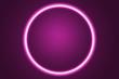 canvas print picture - Fondo de un eclipse rosa con luz.