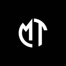 MT Monogram Logo Circle Ribbon...