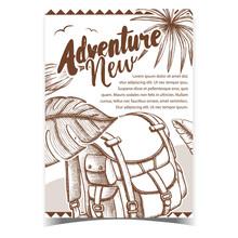Adventure Tourist Travel Backp...