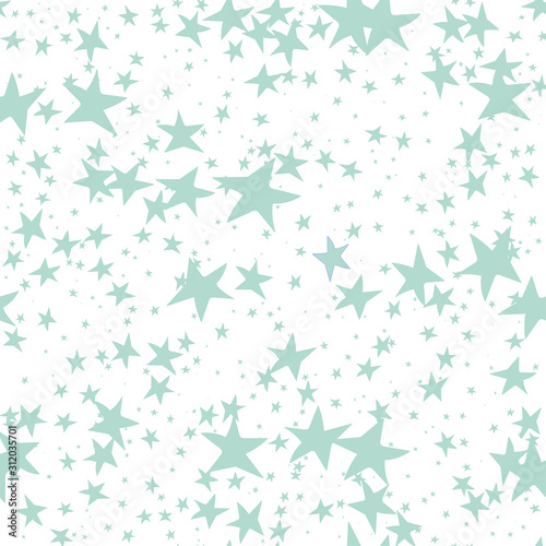 Fototapeta  Abstract distorted stars seamless repeat pattern for wrapping paper,wallpaper,ba