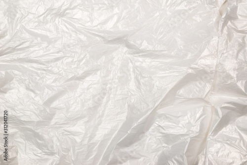 Fototapety, obrazy: Plastic wihite background. Top view.