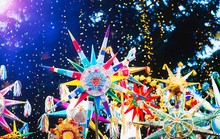 "Celebration Of  Orthodox Christmas In Lviv. Festival ""The Flash Of Christmas Star"". Parade Of Christmas Stars."