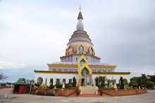 Big Pagoda At Wat Thaton In Ch...