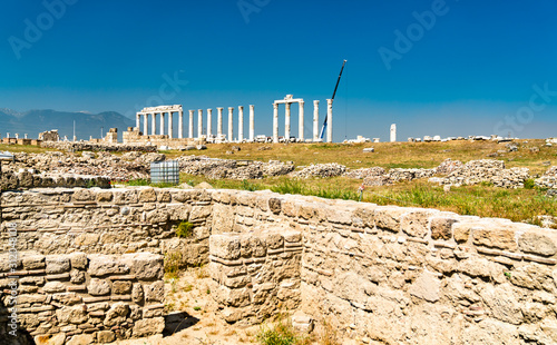 Laodicea on the Lycus, an archaeological site in western Turkey Canvas Print