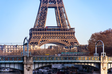 Close Up Of Eiffel Tower With ...