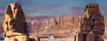 Colossi Of Memnon Luxor Thebes...