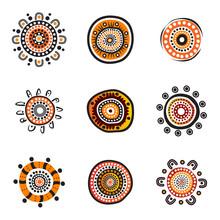 Aboriginal Art Dots Painting I...