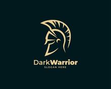 Warrior Sparta Logo Vector Te...