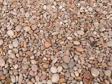 Texture Of A Pebble Beach