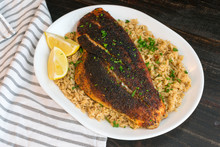 Cajun-style Blackened Red Snap...