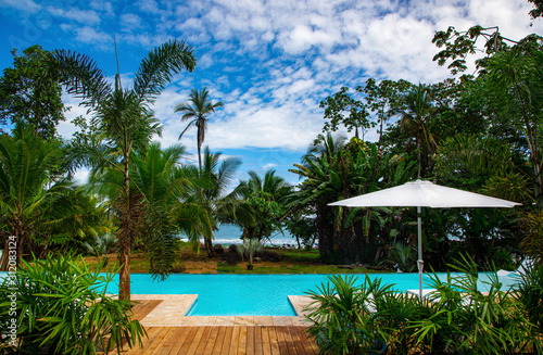 Luxury Boutique Hotel in Costa Rica at the Caribbean close to Puerto Viejo Wallpaper Mural