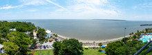 A Panoramic View Of St Simons ...