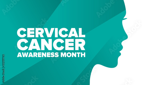 Fotografía  Cervical Cancer Awareness Month